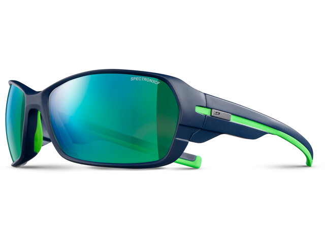 Julbo Dirt² Spectron 3CF Sunglasses Matt Dark Blue/Green-Green
